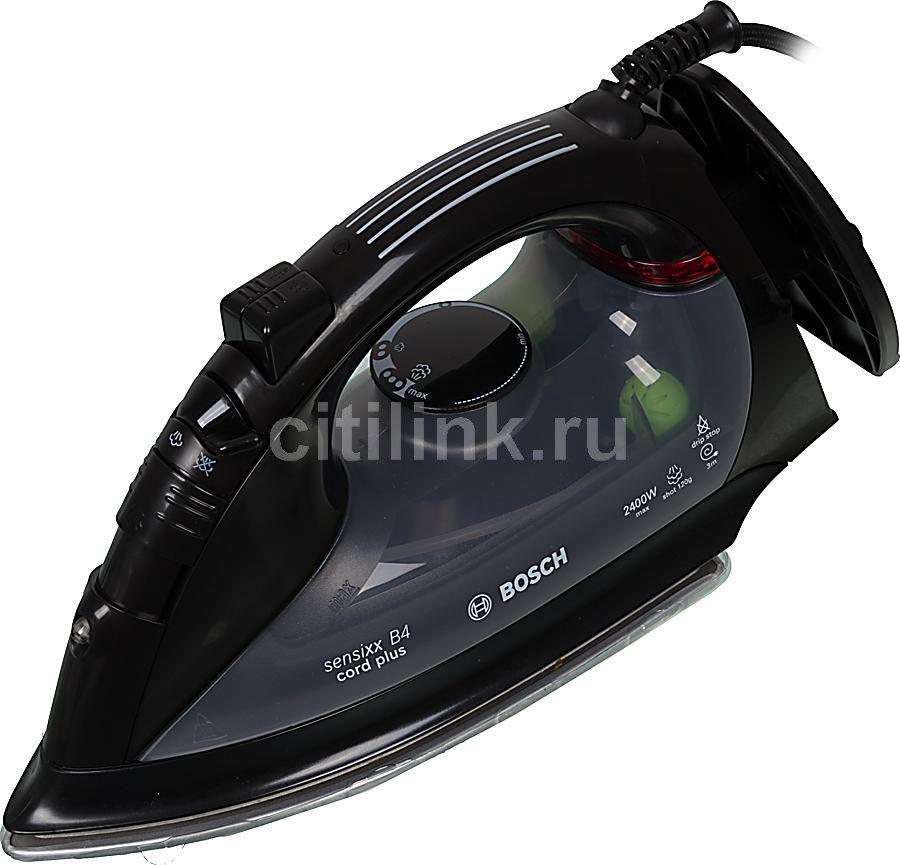 Утюг BOSCH TDA5660,  2400Вт,  черный