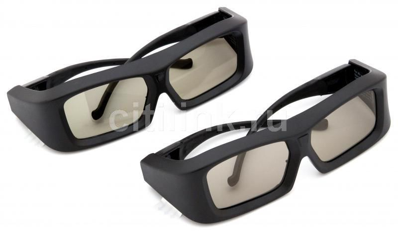 Очки 3D PHILIPS PTA02/00 (комплект из 2 пар очков),  черный