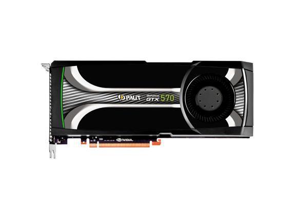 Видеокарта PALIT nVidia  GeForce GTX 570 ,  1.3Гб, GDDR5, Ret [ne5x5700f09da]