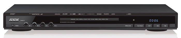 DVD-плеер BBK DV827Х,  черный,  диск 4000 песен