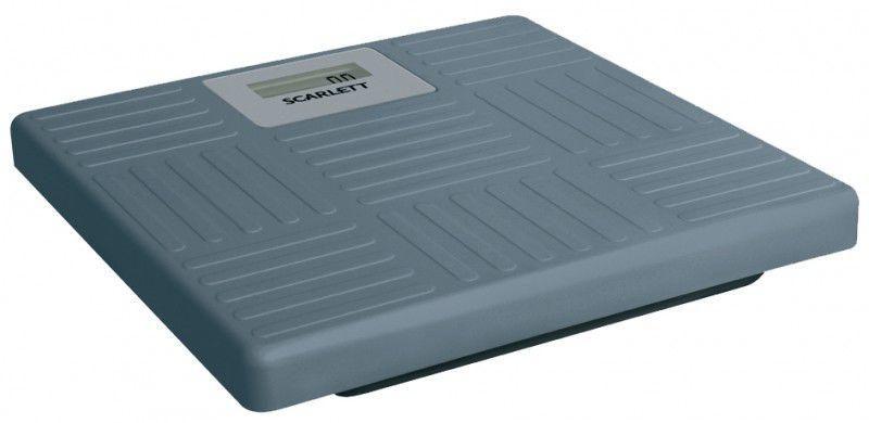 Напольные весы SCARLETT SC215, до 150кг, цвет: серый