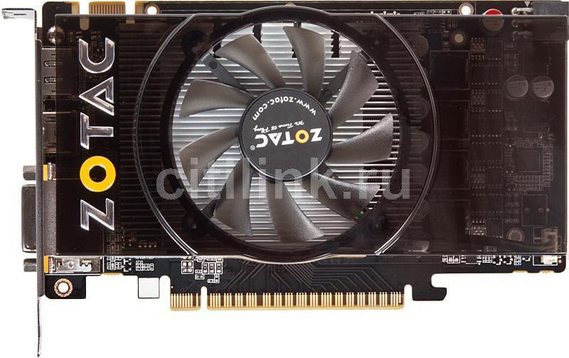 Видеокарта ZOTAC GeForce GTS 450,  512Мб, GDDR5, Ret [zt-40504-10l]