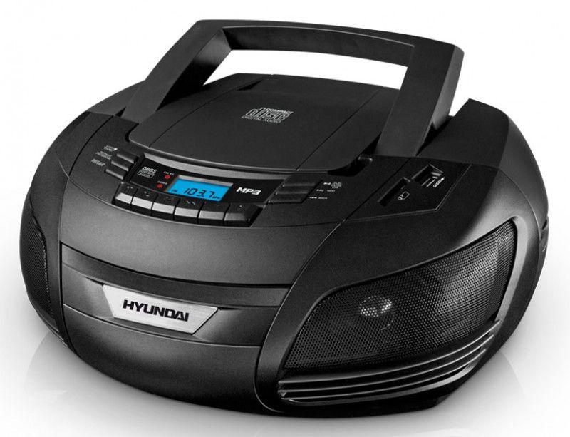 Аудиомагнитола HYUNDAI H-1438,  черный