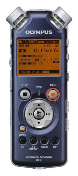 Диктофон OLYMPUS LS-5 2 Gb,  синий [n2286521]