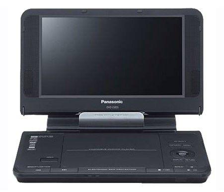 Портативный плеер PANASONIC DVD-LS837EE-K, 8.5