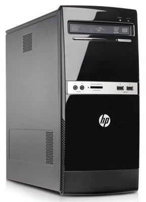 Компьютер  HP 500B + монитор S2031a (комплект),  Intel  Pentium  E5500,  DDR3 2Гб, 320Гб,  Intel GMA X4500,  DVD-RW,  Windows 7 Professional,  черный [xf934ea]