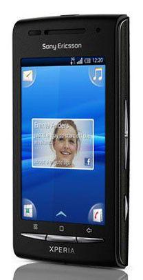 Смартфон SONY Xperia X8i E15i  черный