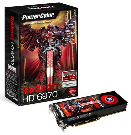 Видеокарта POWERCOLOR Radeon HD 6970,  2Гб, GDDR5, Ret [ax6970 2gbd5-m2dh]