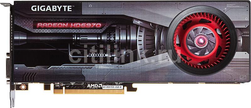 Видеокарта GIGABYTE Radeon HD 6970,  2Гб, GDDR5, Ret [gv-r697d5-2gd-b]