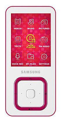 MP3 плеер SAMSUNG YP-Q3 flash 8Гб белый [yp-q3cw/xer]
