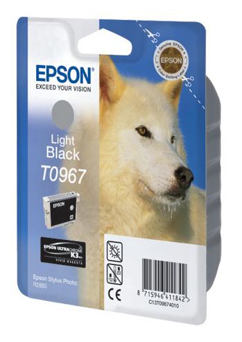 Картридж EPSON T0967 светло-чёрный [c13t09674010]