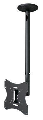 """Кронштейн для телевизора Arm Media LCD-1000 серебристый 10""""-37"""" макс.30кг потолочный поворот и накло [10003]"""