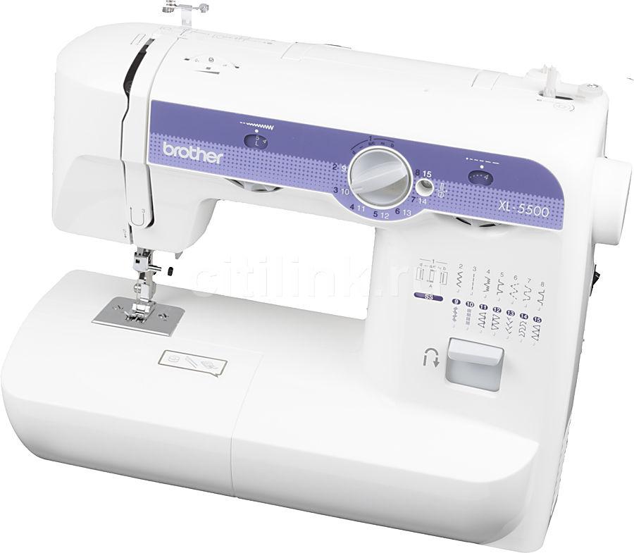 Швейная машина BROTHER XL-5500 белый [xl5500]