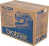 Швейная машина BROTHER XL2220 белый вид 12