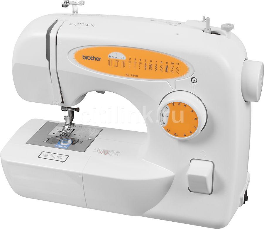 Швейная машина BROTHER XL2240 белый