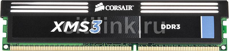 Модуль памяти CORSAIR XMS3 CMX2GX3M1A1333C9 DDR3 -  2Гб 1333, DIMM,  Ret
