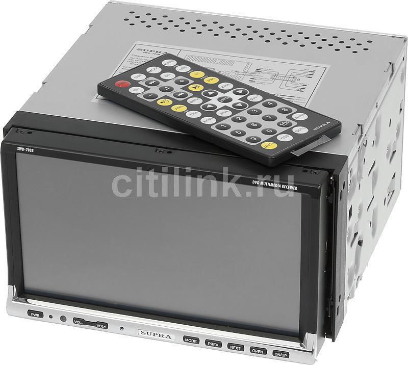 Автомагнитола SUPRA SWD-703B,  USB,  SD/MMC
