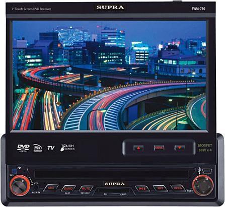 Автомагнитола SUPRA SWM-750,  USB,  SD/MMC