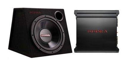 Сабвуфер автомобильный SUPRA SSP-100,  пассивный,  400Вт