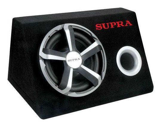Сабвуфер автомобильный SUPRA SRD-251A,  активный