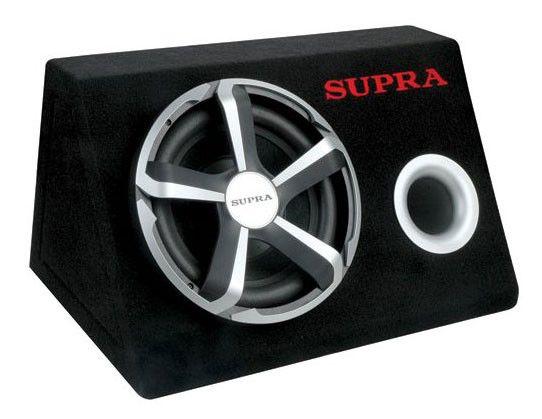 Сабвуфер автомобильный SUPRA SRD-301A,  активный