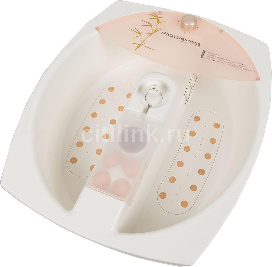 Гидромассажная ванночка для ног ROWENTA TS5511F0,  розовый,  золотистый