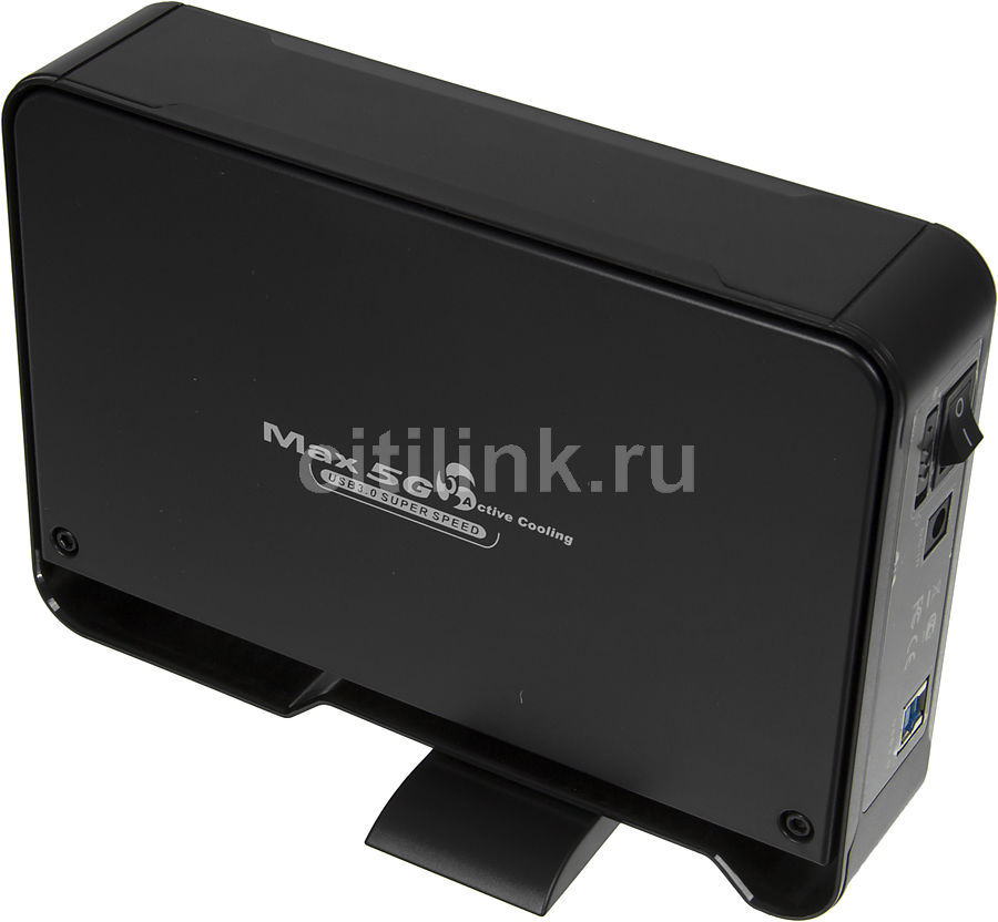 Внешний корпус для  HDD THERMALTAKE Max 5G ST0020E, черный