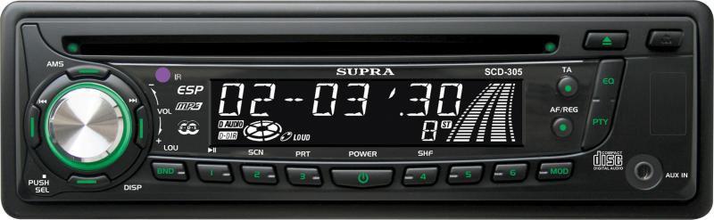 Автомагнитола SUPRA SCD-305
