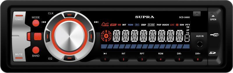 Автомагнитола SUPRA SCD-500U,  USB,  SD/MMC