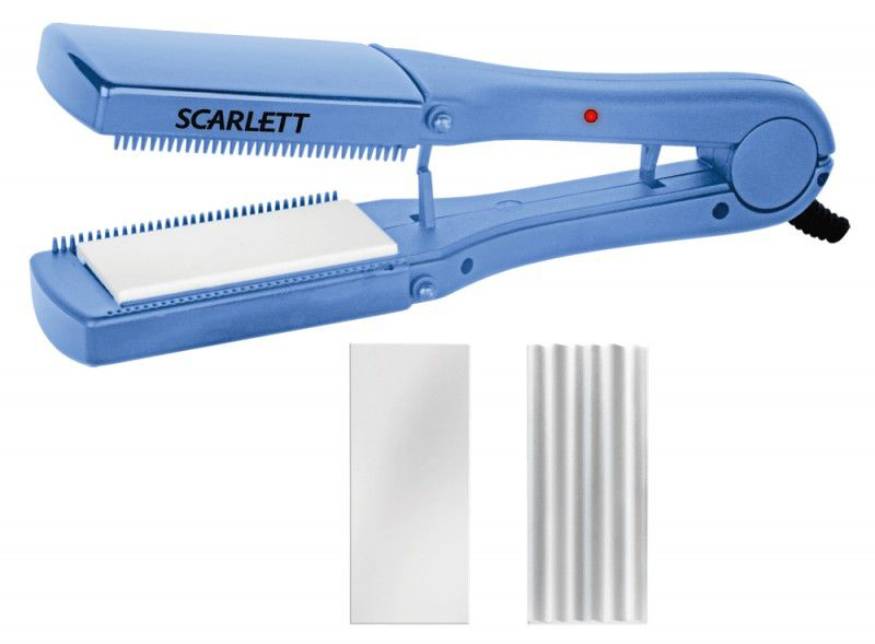 Выпрямитель для волос SCARLETT SC069,  синий