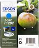 Картридж EPSON C13T12924011 голубой вид 1