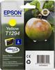 Картридж EPSON C13T12944011 желтый вид 1