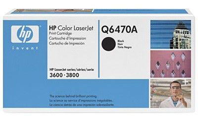 Картридж HP Q6470A черный