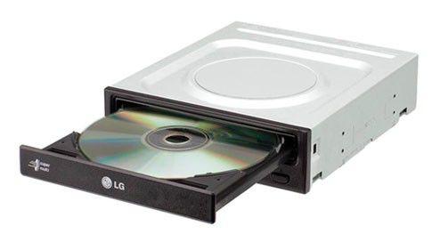 Оптический привод DVD-RW LG GH22NP21, внутренний, IDE, черный,  OEM [gh22np21.auaa50b]