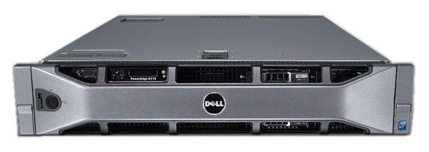 Сервер Dell PE R710 2xE5530 2.4/48(12x4 RDIM2R1.3K)SAS6 2.5 2x146 15+6x300 10/W/iD6EnV/H700/RPS/3YP [210-32068]
