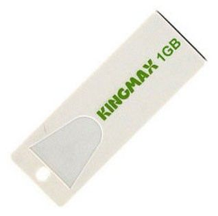 Флешка USB KINGMAX Super Stick MINI 1Гб, USB2.0, белый