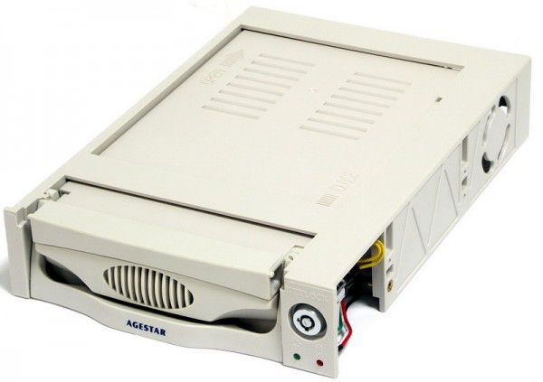 Mobile rack (салазки) для  HDD AGESTAR MR3-SATA (KW)-1F