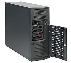 Корпус SuperMicro CSE-733TQ-665B Midi-Tower 665W черный