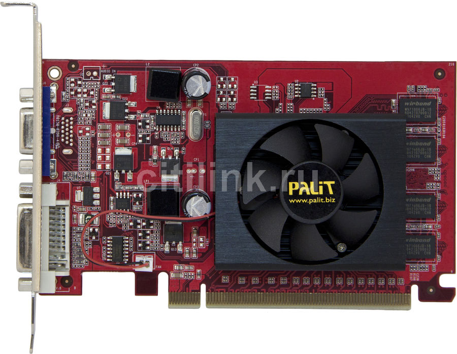 Видеокарта PALIT GeForce 210,  512Мб, DDR2, oem [ne2g21000856-218xf]