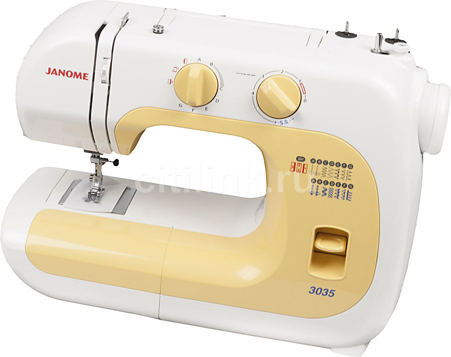 Швейная машина JANOME 3035 белый
