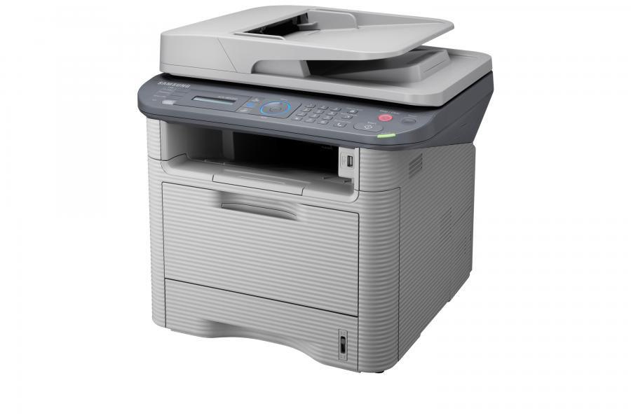МФУ SAMSUNG SCX-4833FD/XEV,  A4,  лазерный,  серый
