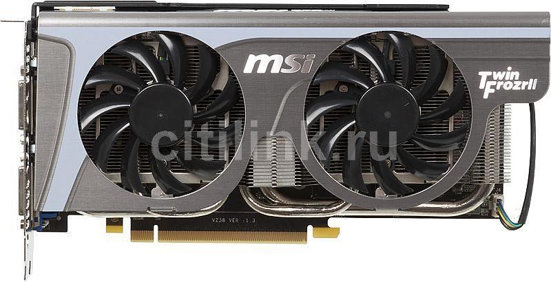 Видеокарта MSI nVidia  GeForce GTX 560Ti ,  1Гб, GDDR5, OC,  Ret [n560gtx-ti twin frozr ii oc]