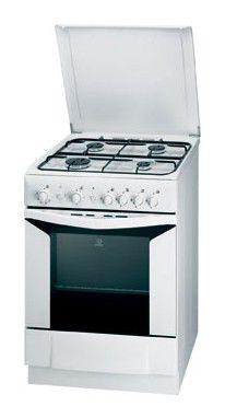 Газовая плита INDESIT K6G20 W/R,  газовая духовка,  белый