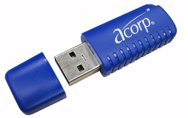 Контроллер Acorp Bluetooth v2.0 WBD1-A2 (Class I) USB Dongle
