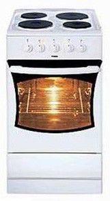 Электрическая плита HANSA FCEB51001010,  эмаль,  коричневый