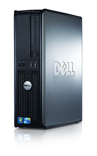 DELL Optiplex 380,  Intel  Core2 Duo  E7500,  DDR3 2Гб, 500Гб,  Intel GMA X4500,  DVD-RW,  Free DOS,  черный [x053800113r]