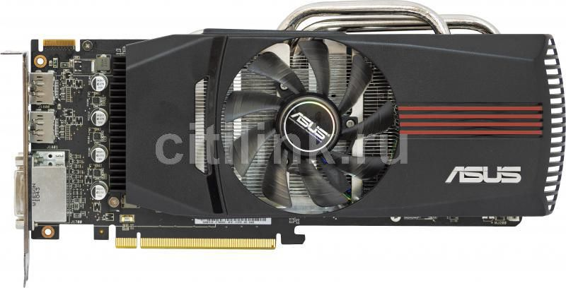 Видеокарта ASUS Radeon HD 6870,  1Гб, GDDR5, Ret [eah6870 dc/2di2s/1gd5]