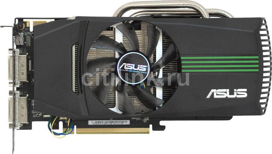 Видеокарта ASUS GeForce GTX 460,  1Гб, GDDR5, OC,  Ret [engtx460 dc top/2di/1gd5/v2]