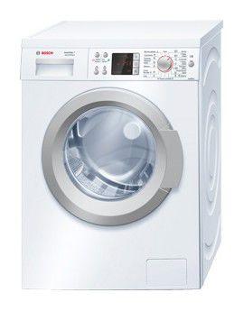 Стиральная машина BOSCH WAQ24440OE, фронтальная загрузка,  белый