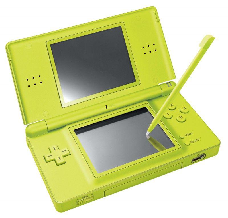 Игровая консоль NINTENDO DS Lite, зеленый